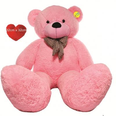 7 Feet Teddy Bear Large Real Giant  Very Soft Lovable/Hug-Gable Teddy Bears  Girlfriends/Birthday, Wedding Gift (Pink)