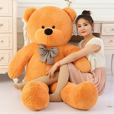5 Feet Teddy Bear Large Very Soft Lovable/Hug-Gable 60 inches Teddy Bears Girlfriend/Birthday, Wedding Gift (Brown)