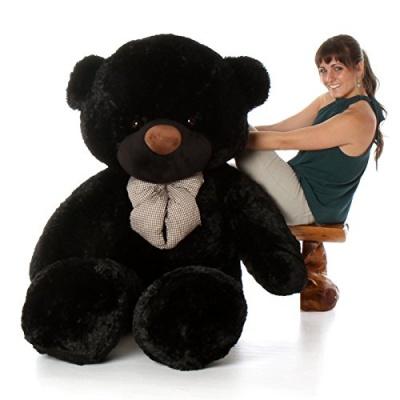 ToYBULK Real Giant 6 Feet Large Very Soft Lovable/Hug-Gable Teddy Bears 72 inch Girlfriends/Birthday, Wedding Gift (Black)