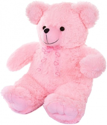 2 Feet Cute & Adorable Pink Teddy Bear with Paws