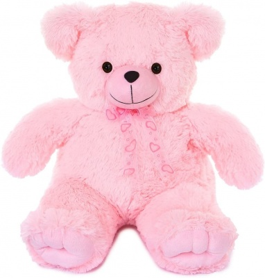 3 Feet Teddy Bear Cute & Adorable Pink Teddy Bear with Paws