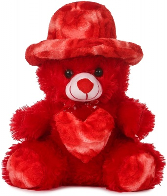 1.5 Feet Cap Teddy Bear Very Beautiful Huggable Valentine and Birthday Gifts Lovable Special Gift - 32 cm (Red)