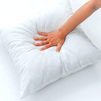 Hotel Quality Hollow Fiber Filler Cushion (16X16 Inches White) -Set of 1