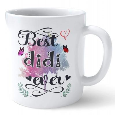 Best didi Ever Printed Mug Gift for Sister/didi Perfect Gifts for Rakhi/Gift for Big Sisters/Sister Birthday Gift Coffee Mug Tea by ToYBULK