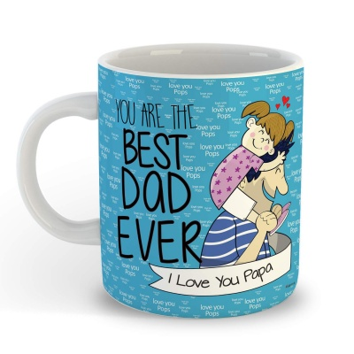 Best Dad I Love You Gift for Dad Father Happy Fathers Day Mug Cushion Special Gift for Dad-Father-Grandfather-Birthday Gifts, Fathers Day Gifts