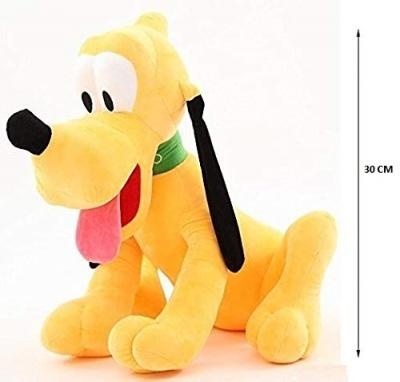 Soft Stuffed Lovable Hugable Non-Toxic Fabric Cute Teddy Bear for Birhtday / Anniversary/ Valantine (Dog_Pluto30CM _Dog)