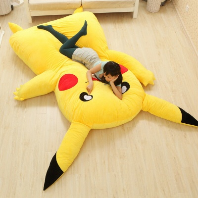 PIKACHU CARTOON BED (COVER)