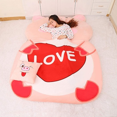 PLOVE PIGGI CATOON BED (COVER)