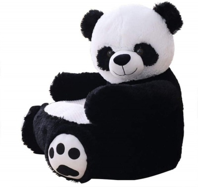 Plush Kids Panda Sofa Seat Children's Chair Armchair Animal Comfortable Sofa seat (Panda Bear)