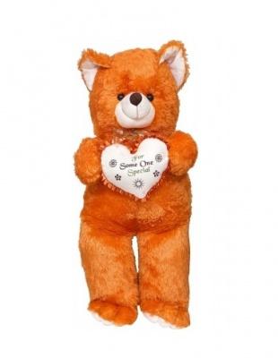 3 Feet Teddy Bear Cute & Adorable Brown Teddy Bear with Heart
