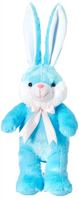 1 feet Long Rabbit Soft Toy, Rabbit Soft Toy for Kids, Ears Rabbit, Blue, 30 cm