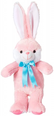 1 feet Long Rabbit Soft Toy, Rabbit Soft Toy for Kids, Ears Rabbit, Pink, 30 cm