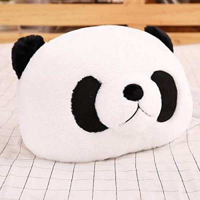 Long Soft Lovable hugable Cute Giant Life Size Teddy Bear (Head Pillow, Panda)