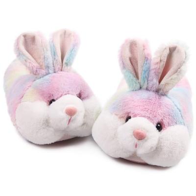 Classic Bunny Slippers for Women Funny Animal Slippers for Girls Cute Plush Rabbit Slippers Christmas Slippers for Women