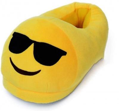 Emoticon Slippers Sunglasses Novelty Gift Unisex Adult Men Women Emoti Sunglasses Winter Plush Indoor Slippers for Girl Boy